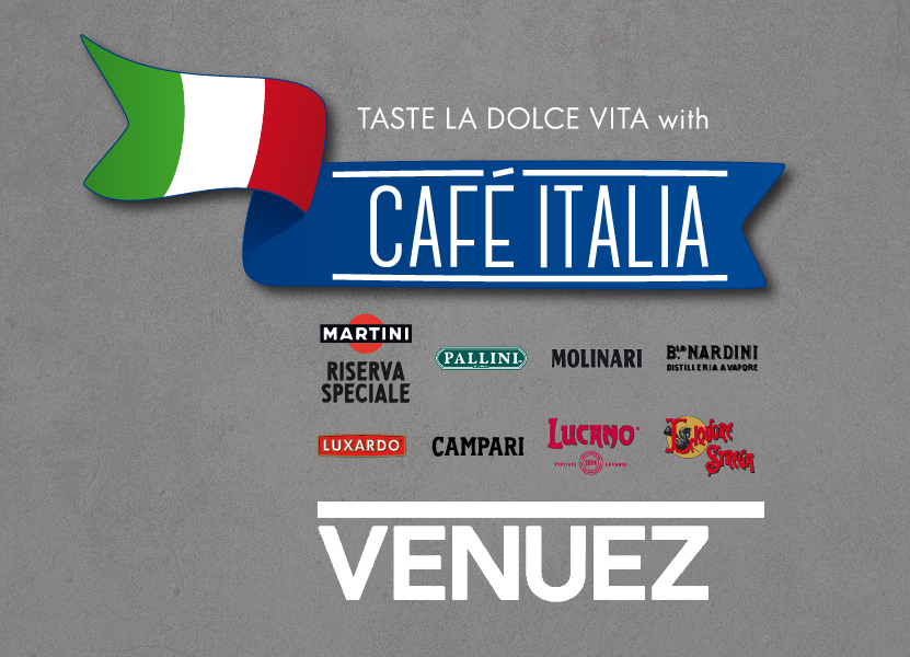 Cafe Italia at Venuez